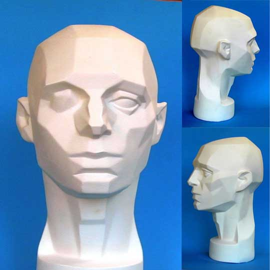 """Planes of the Head"", or ""Asaro Head"" model"