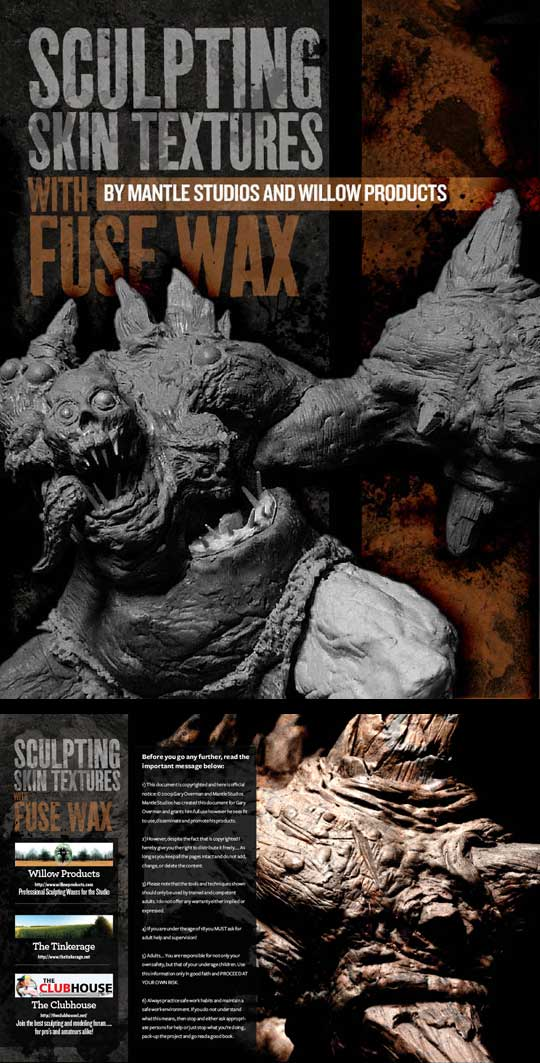 Wax sculpting tutorial PDF for download